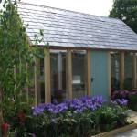 Glass and Oak Summer House