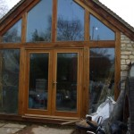 Oak and Glass House Extension