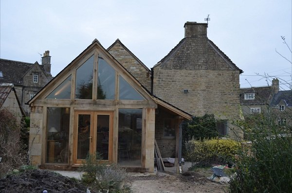 Two Storey Extension - The Oak Glasshouse