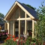 Glass and Oak Summerhouse