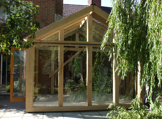 Glass and Oak Conservatory