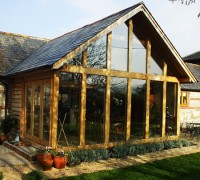 Glass and Oak Extensiion