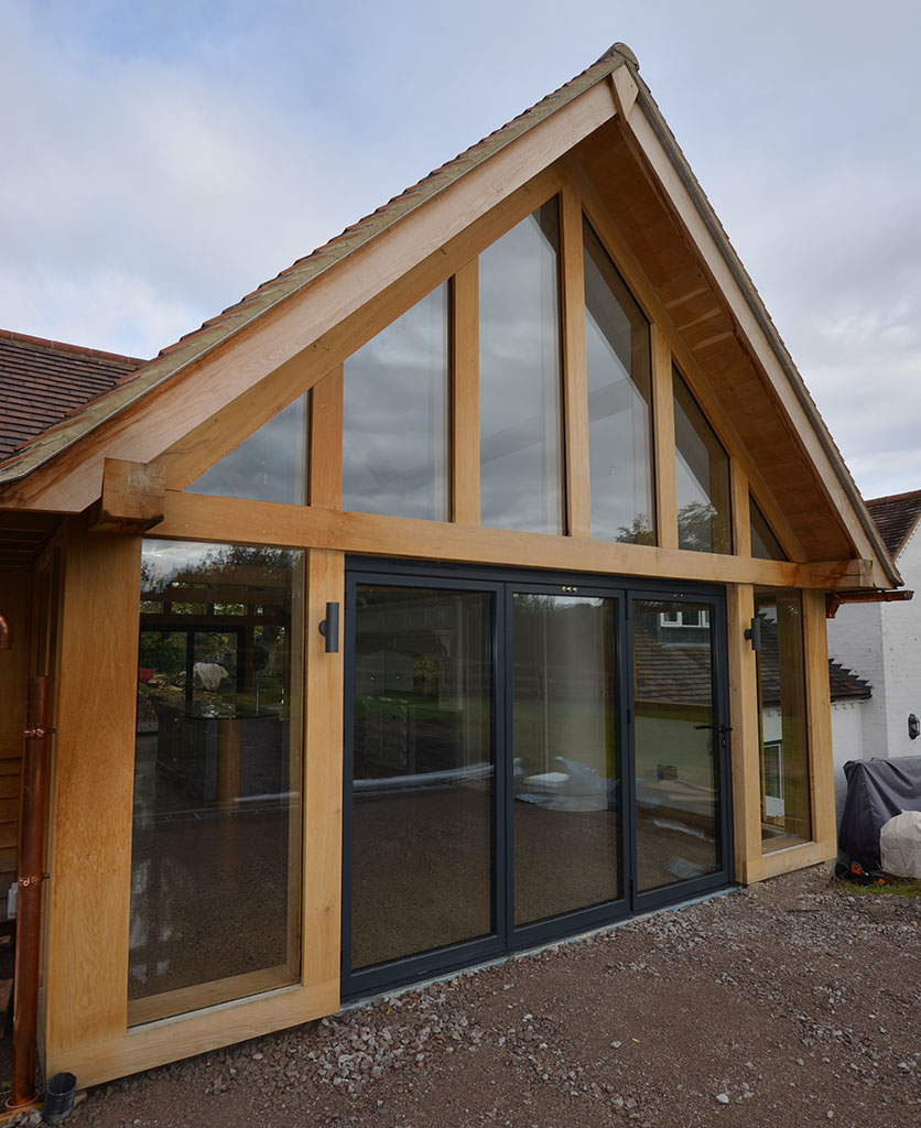 Completed Oak Kitchen Extension